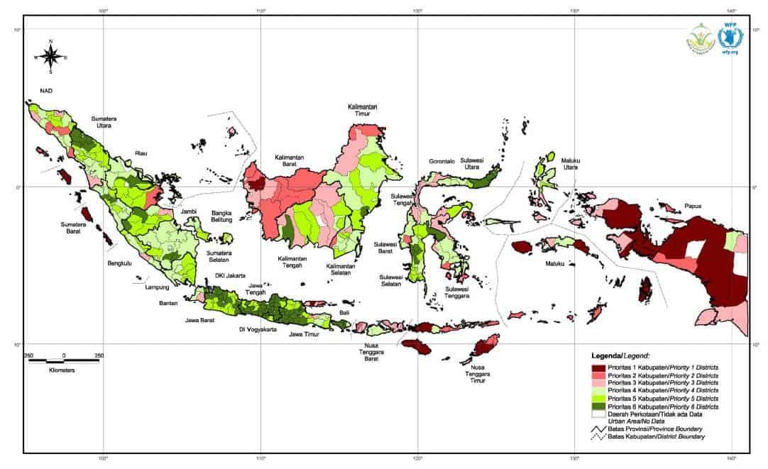 peta kerawanan pangan